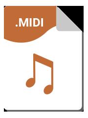 Formato Midi - Transcripción de partituras